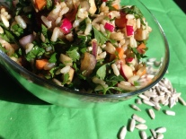 Macrobiotic Brown Rice Tabbouli