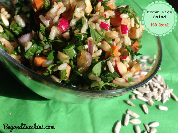 Brown rice tabbouli-bz