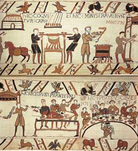 bayeux tapestry bread