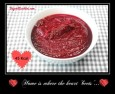 Beetroot soup kcal