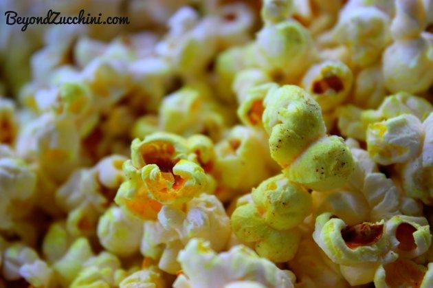 Yellow popcorn 4