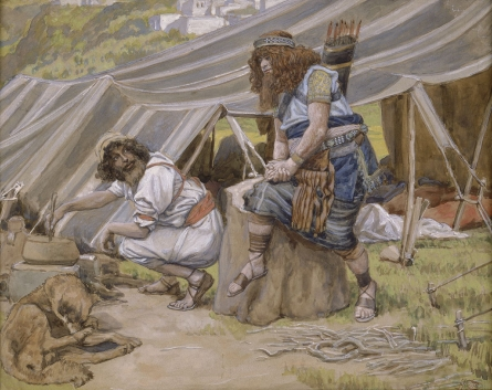"Tissot's version of the ""Mess of Pottage"""
