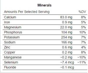 minerals pumpkin-salmon lasagna