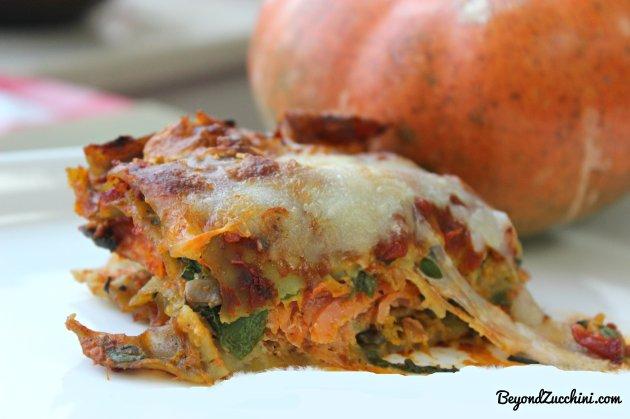 pumpkin lasagna 1