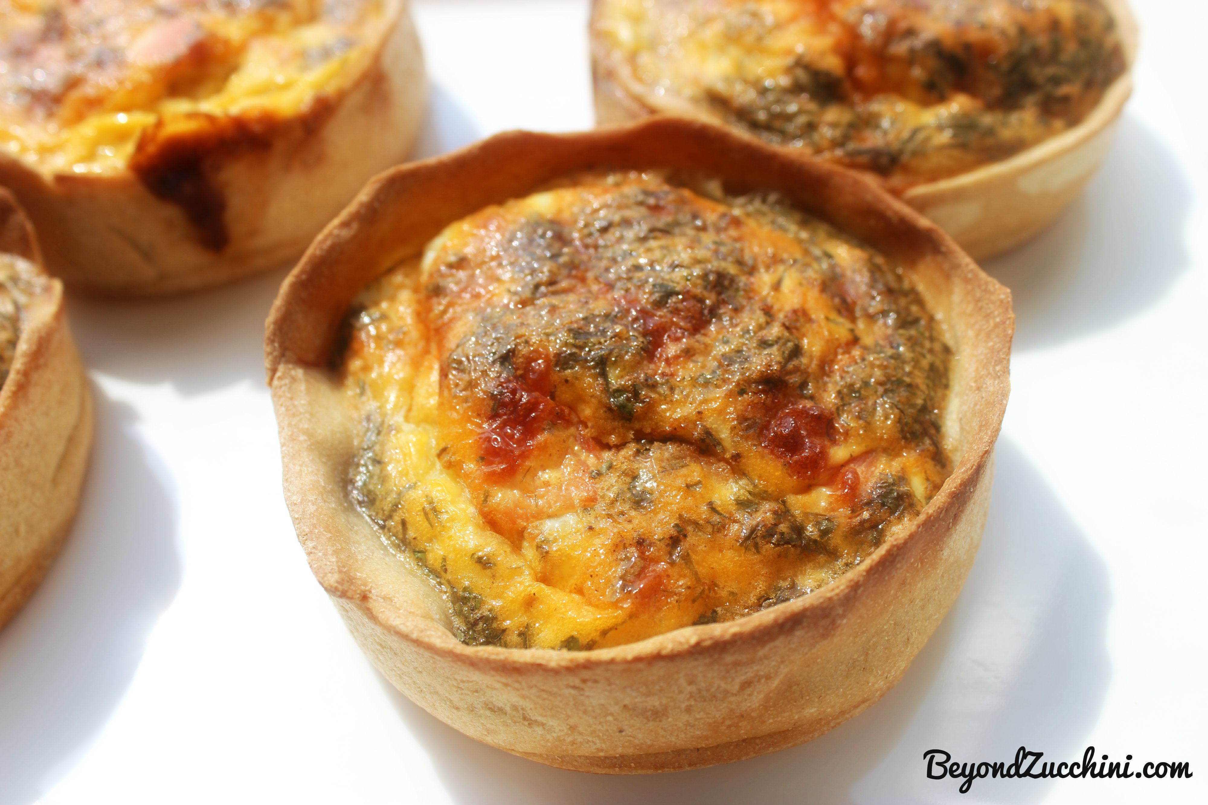 Low fat salmon quiche recipes easy