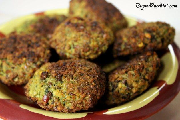 vegan baked falafel 1