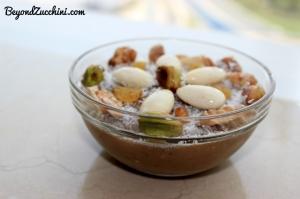 Meghli-pudding